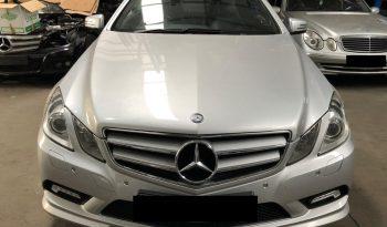 Mercedes (W207) E250 CDI Blueefficiency Coupe de 2009 para peças completo