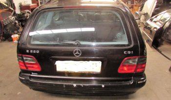 Mercedes E220 CDI Station de 2000 W210 para peças completo