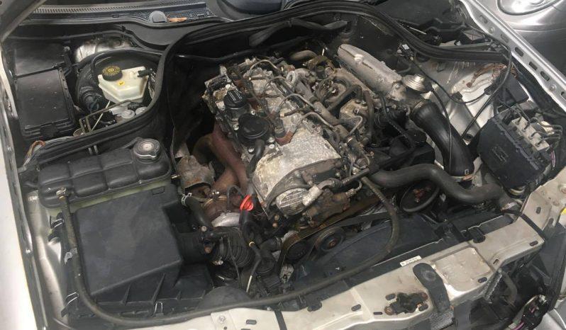 Mercedes C220 CDI 2000 W202 para peças completo