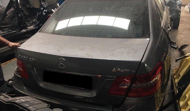 Mercedes E350 Cdi 4Matic W212 de 2010 para peças completo