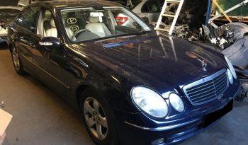 Mercedes E220 Cdi W211 de 2004 para peças completo