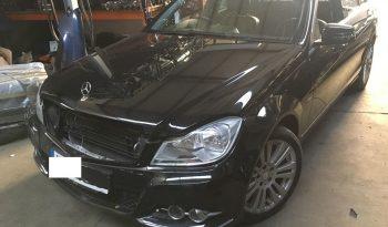 Mercedes C220 Bluefficiency (W204) de 2011 completo