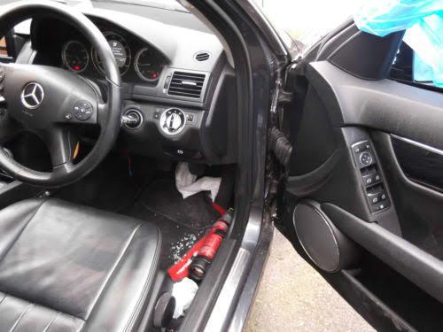 Mercedes C220D W204 de 2010 para peças completo