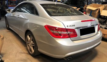 Mercedes E220 CDI W212 Blueefficiency de 2011 para peças completo