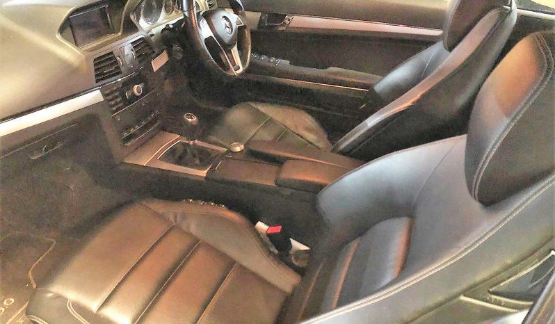 Mercedes E220 CDI Coupe Blue efficiency W207 de 2011 para peças completo