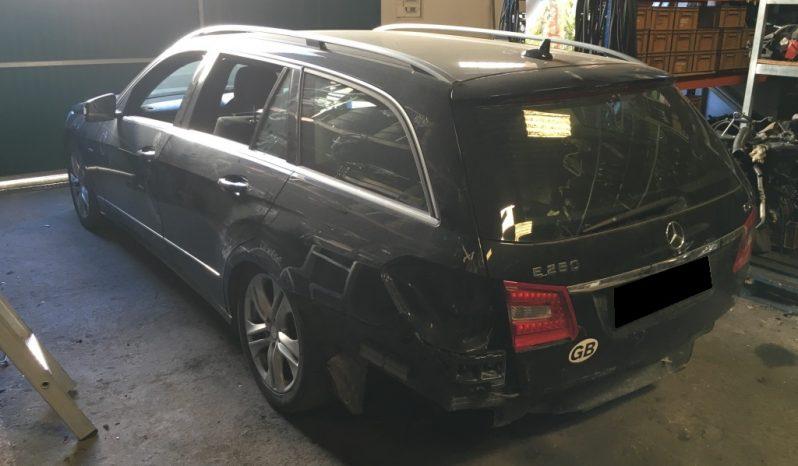 Mercedes E250 Cdi Station Blue Efficiency de 2013 para peças completo